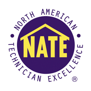 NATE Logo - Midwest Heating & Cooling is a North American Technical Excellence Award Winner